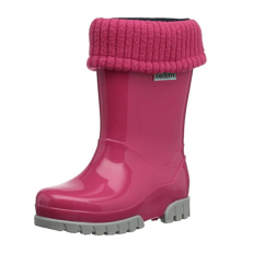 Term Roll Top Welly (Pink)
